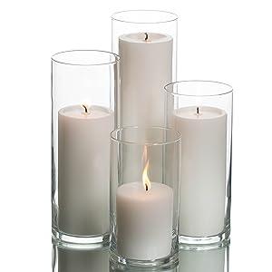 Pillars in Vases