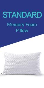 Standard size Memory Foam Pillow