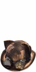 women steampunk hat