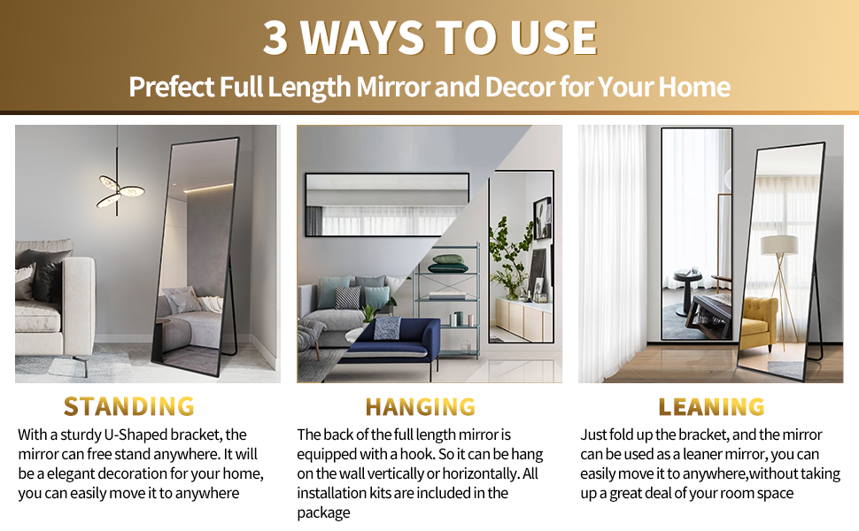 Full Length Floor Mirrors