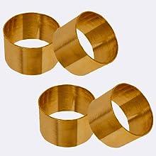 set of 6 napkin rings