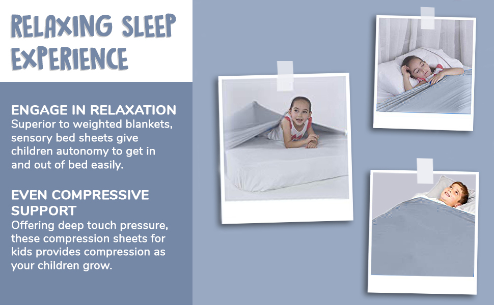 Sensory Bed Sheet - Gray