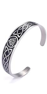 Odin symbol bracelet