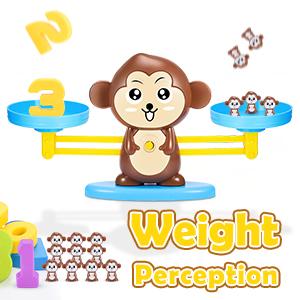monkey balance counting math games