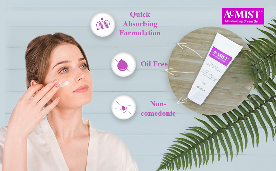 moisturising cream gel