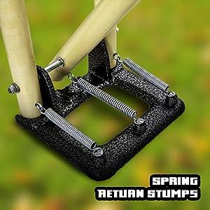 Spring Return Stumps
