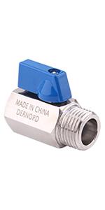 DERNORD mini ball valve