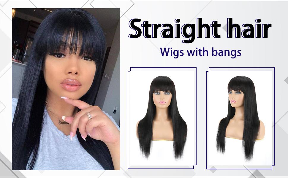 machine  made  human hair  wigs