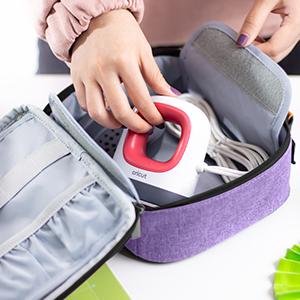 Bag Only ProCase Carrying Case for Cricut Joy Machine -Grey Portable Storage Bag Travel Tote Bag for Craft Pen Set and Basic Tool Set