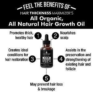 Hair growth oil 1oz