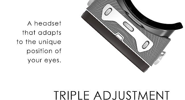 Interpupilar adjustment
