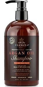 Royal Formula Argan Oil Sulfate Free Shampoo for Dry Damaged Hair