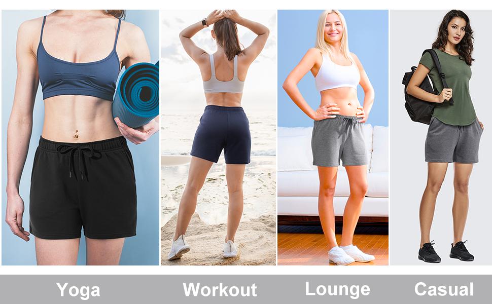 exercise fitness gym shorts