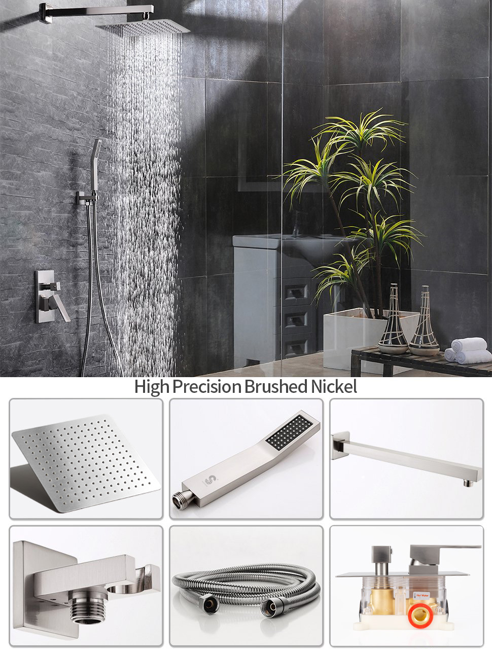 rain shower system