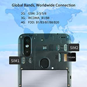Teléfono Moviles (2020), OUKITEL C15 Pro Smartphone Libres ...