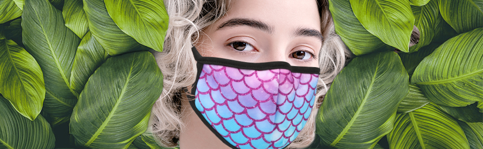 Breathable Reusable and Washable 2 Layers Face Madk