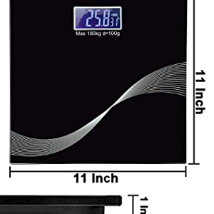11 inch scale