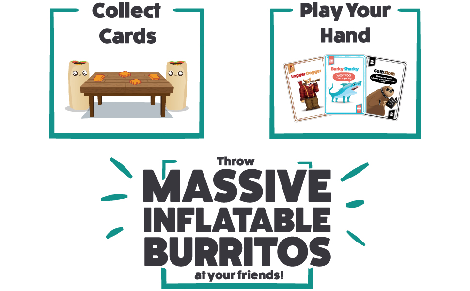throw throw burrito outdoor edition how to play