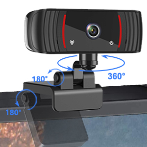 computer camera with microphone