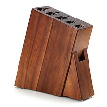 Sturdy Acacia Wood Knife Block