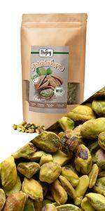 pistache noten pistachenoten rauw niet gebakken geroosterd ongezouten zoutvrij zonder pistachepasta