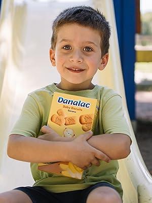 DANALAC Baby Biscuits Snack kids baby babies children