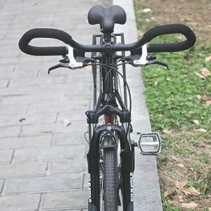 UPANBIKE Bike Butterfly Guidon 25.4mm 31.8mm avec des poign/ées en /éponge pour Le Trekking v/élo v/élo Route v/élo