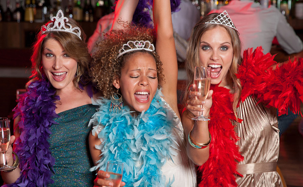Colorful Party Feather BOA Girls Feather Boas for Mardi Gras Decorations Costume Boas Party Supplies
