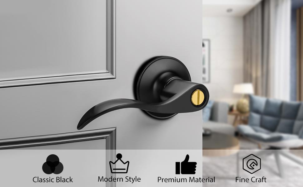 Door Lever Handle Privacy