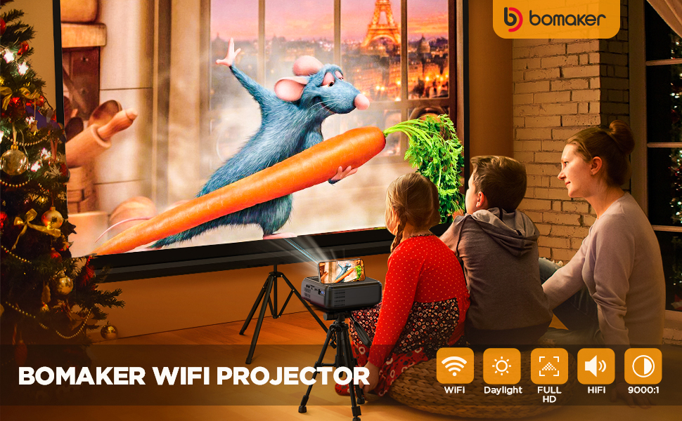 Real wireless projector