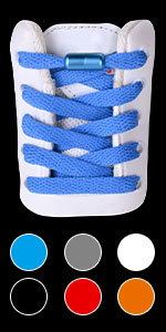 Flat Athletic No Tie Shoelaces