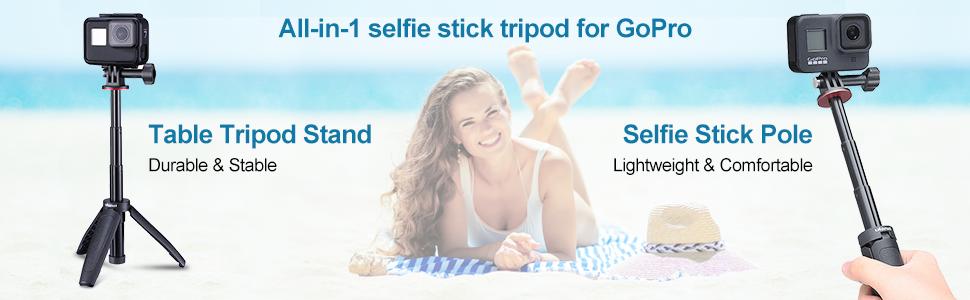 Extendable Selfie Stick Tripod