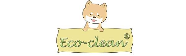 Eco-clean brand logo