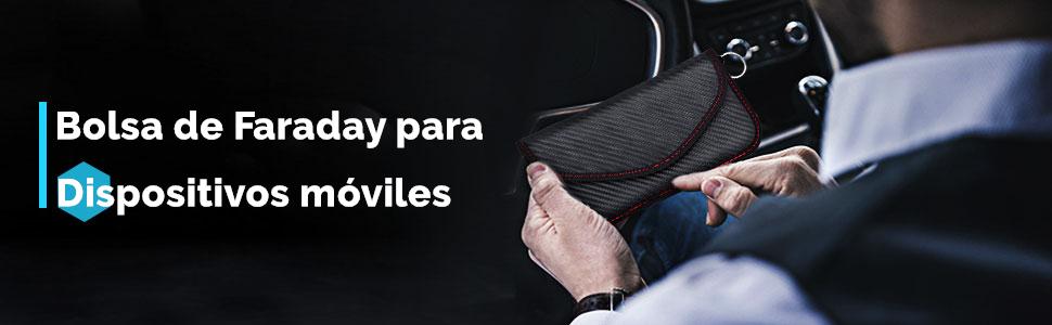 Bolsa de Faraday para Teléfono Móvil, Jaula de Faraday Portatil ...