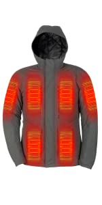 Mens Electric Heated Vest with Battery Fieldsheer Backcountry