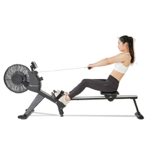 Vair rowing machine for home folding