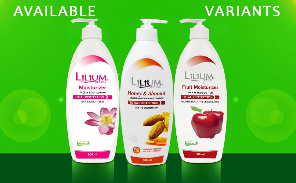 Lilium Aloe Vera Moisturizer 500ml