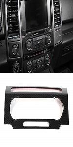 CD Media Audio Volume Adjust Switch Panel Frame for Ford F150 2015 2016 2017