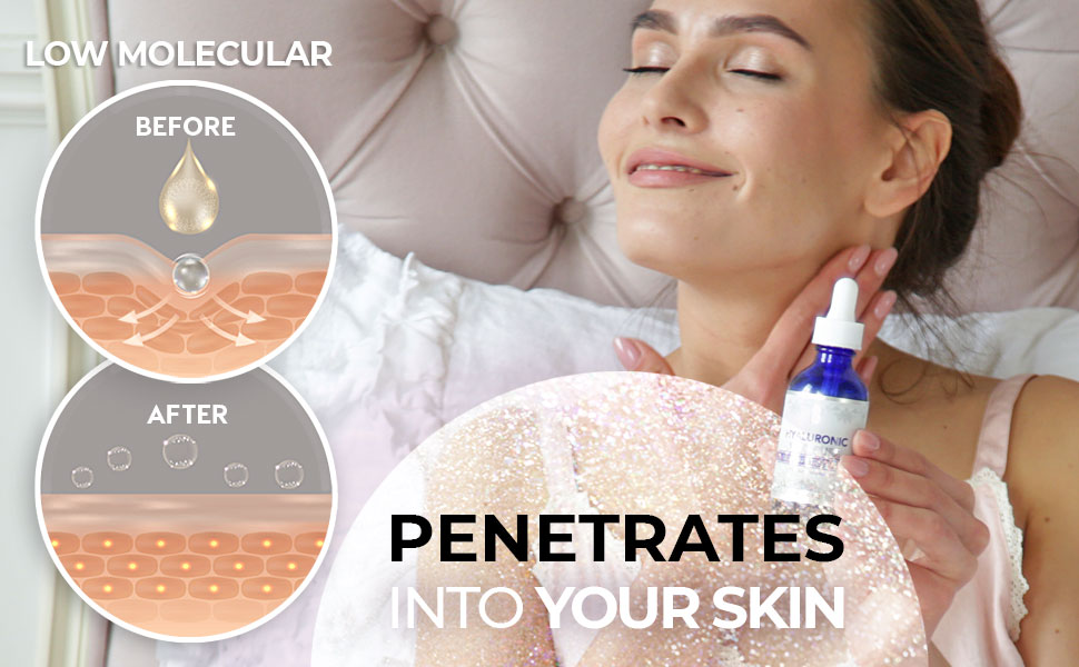 penetrates into your skin