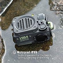 IPX5 Waterproof