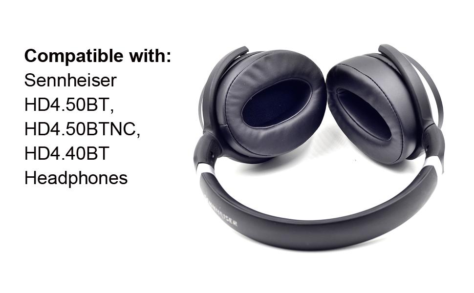 Compatible with Sennheiser HD4.50BT, HD4.50BTNC, HD4.40BT Headphones
