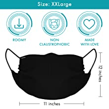 2XL-for big size beard & head