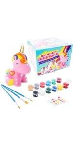 set ceramica hucha pinta tu propia hucha manualidades DIY regalos niñas 4 5 6 7 8 9 10 11 cumpleaños
