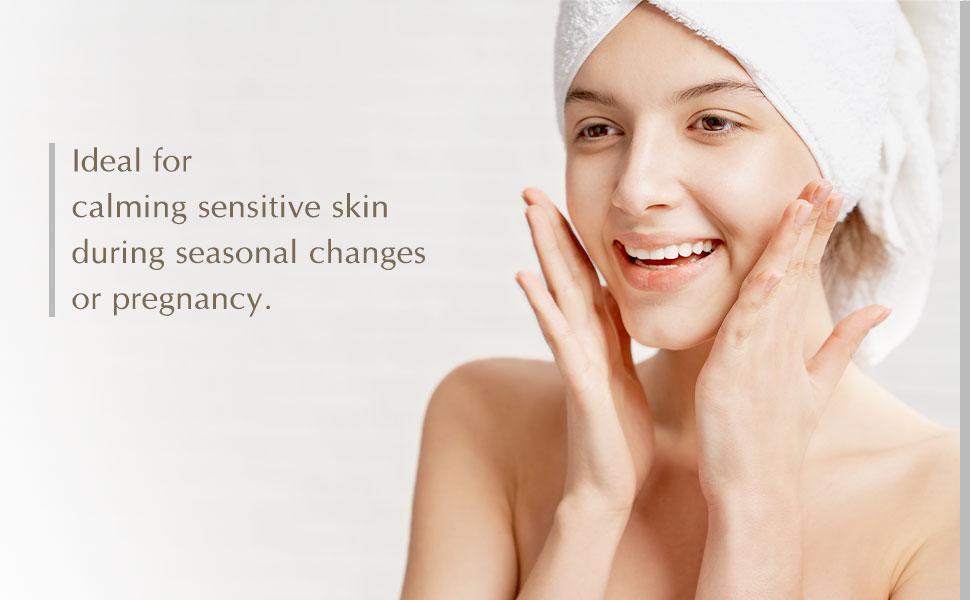 calming sensitive skin pregnancy safe