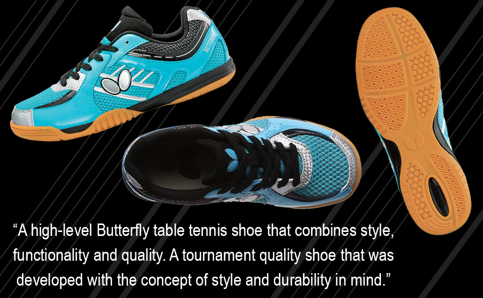 A High-Level Table Tennis Shoes & Tournament Quality Shoe Designed with Style & Durability in Mind