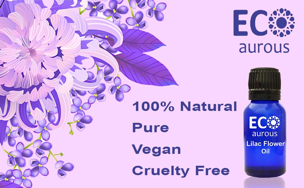 Lilac Flower Oil pure flower oil fragrance essential flower painting syringa perfume organic diffuse