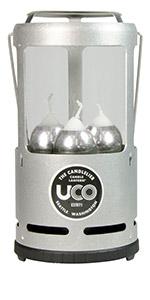 candlelier Tumbled aluminum
