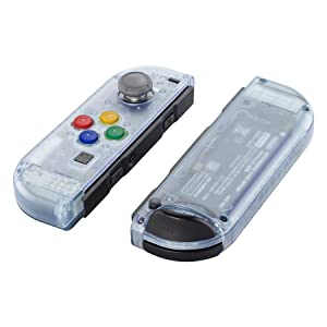 Joycon Clear Shell Buttons