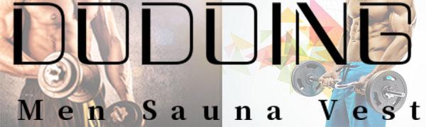 Sauna Vest Men Waist Trainer Vest for Weightloss Hot Polymer Compression Sauna Sweat Body Shaper