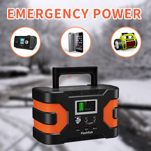 emergency battery pack  200W Peak Power Station, Flashfish CPAP Battery 166Wh 45000mAh Backup Power Pack 110V 150W Lithium Battery Pack Camping Solar Generator For CPAP Camping Home Emergency Power Supply 779efe4a feb5 4ff7 8451 f3beba895986